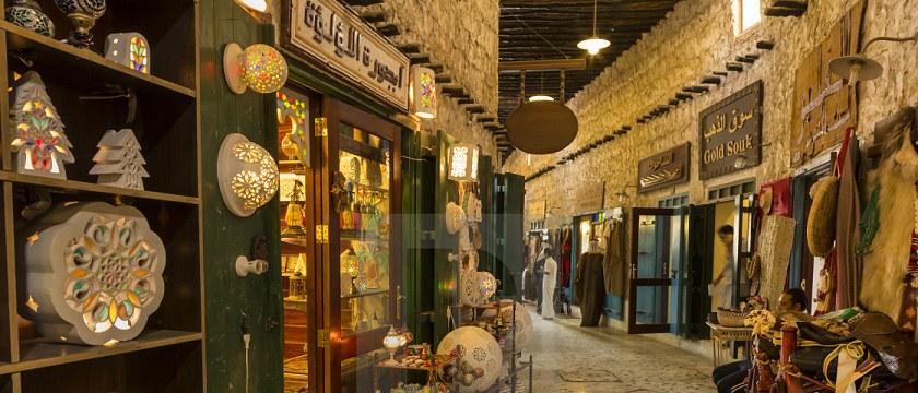 Восточный базар в Катаре
