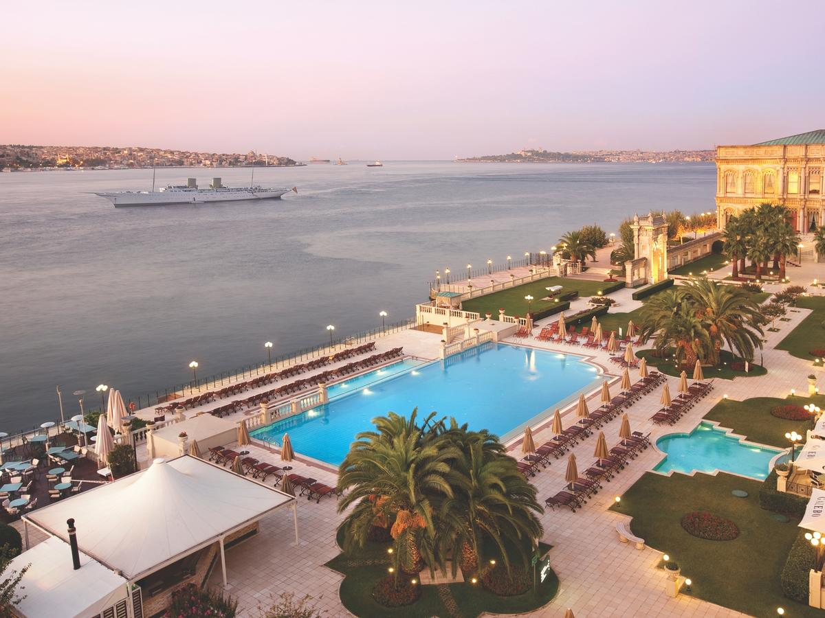Отель Çırağan Palace Kempinski, Стамбул, Турция