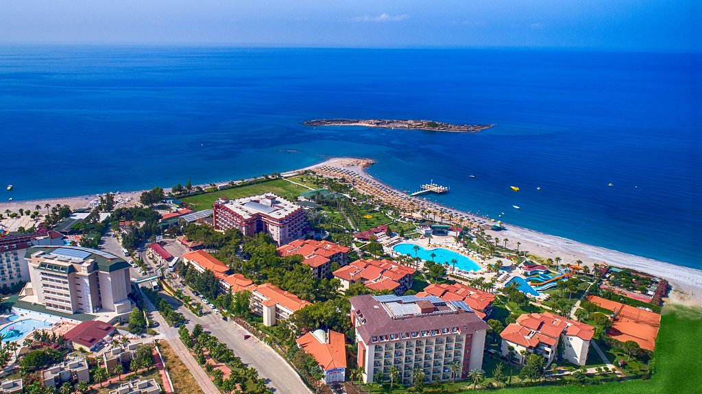 Отель Justiniano Club Park Conti, Аланья, Турция