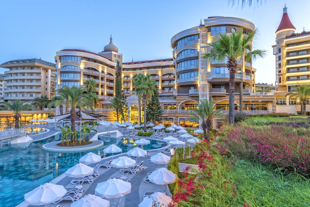 Отель Kirman Hotels Arycanda De Luxe, Аланья, Турция