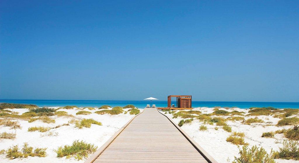 Пляжи Абу Даби, ОАЭ
