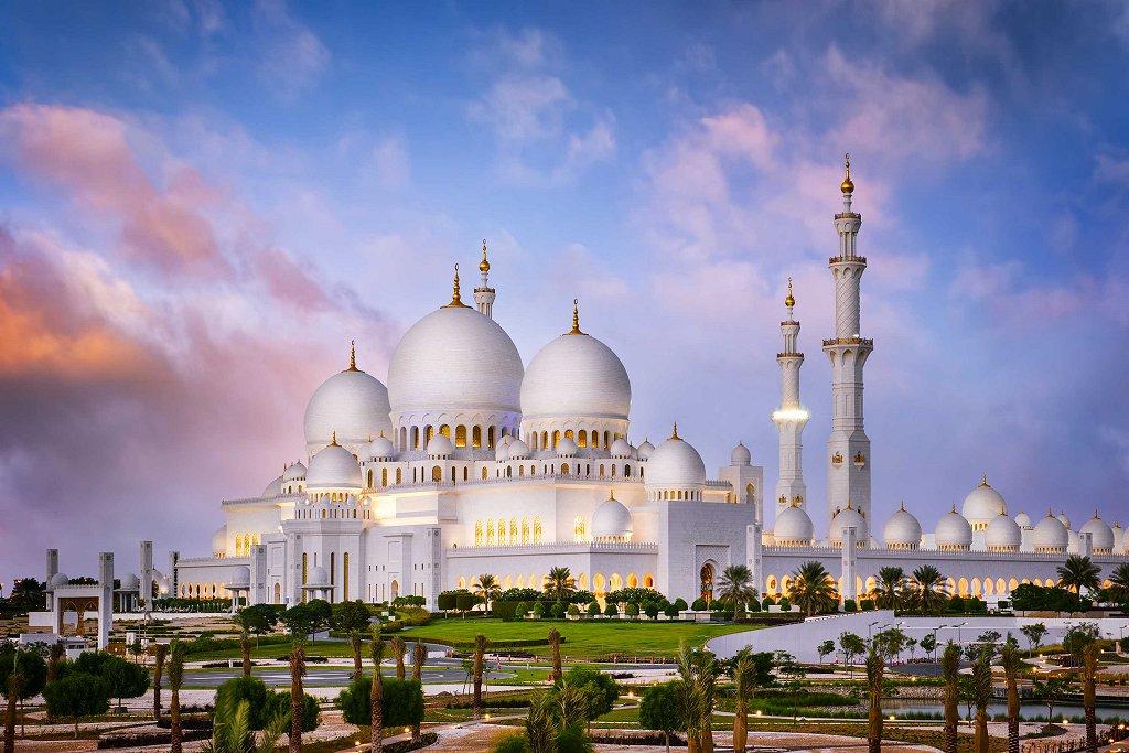 Мечеть шейха Зайда, Абу Даби, ОАЭ